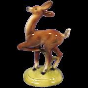 California Artistic Potteries Deer Figurine