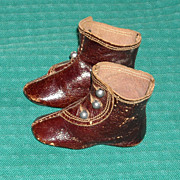 Great Antique Keystone Boots for French Fashion Dolls