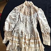 Wonderful Antique Blouse / Jacket for Making Doll Dresses