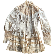 Wonderful Antique Blouse / Jacket for Making Doll Dresses