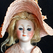 Gorgeous Antique Kestner Gibson Lady Doll