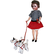 Pretty Simon Halbig Flapper Doll 1159