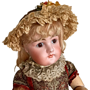 Cute Early Kestner Doll
