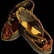 Antique Marked Jumeau Shoes Size 7