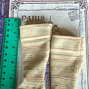 Antique Doll Stockings