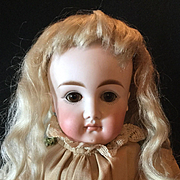 Adorable Antique Long Face Pouty Kestner Doll
