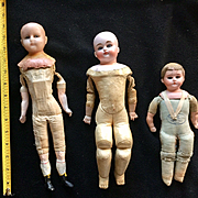 3 Antique Doll Projects
