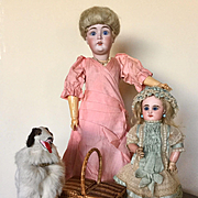 Darling Little Rabery Delphieu Antique Doll