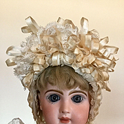 Pretty Antique Size 8 Jumeau Doll