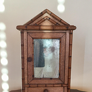 Antique Doll Armoire