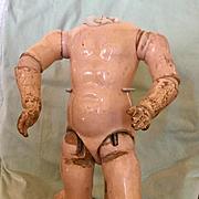 Antique Original Early Kestner Doll Body
