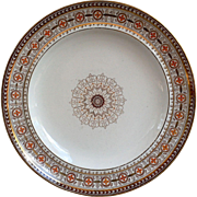 Aesthetic Movement W. T. Copeland and Sons Stoke Upon Trent Dinner Plate c.1800s