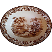 Alfred Meakin Oval Vegetable Bowl