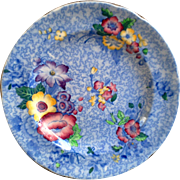 Copeland Spode Blue Wild Flowers Plate