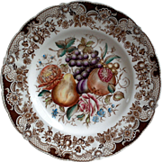 Johnson Brothers Windsor Ware Harvest Fruit Dinner Plate