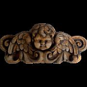 Cherub Angel Plaque Victorian Style Spiritual Garden Plaque