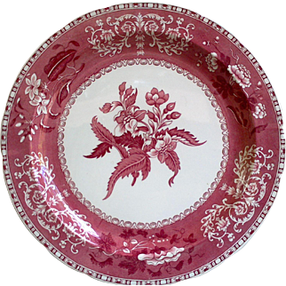"""Spode """"Camilla"""" Pattern Cabinet or Charger Plate"""