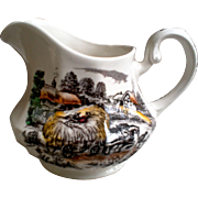 Staffordshire England, Ironstone Creamer