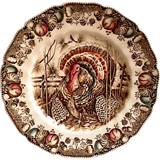 Johnson Brothers His Majesty Dinner Plate