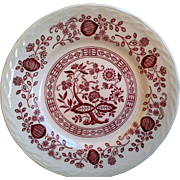 SET OF 4 ~ Royal Staffordshire Royal Art Pottery Pink Onion Side Plates