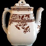 19th Century Aesthetic Movement Tea Pot ~ C. Challinor & Co. ~ Melbourne