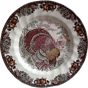 Johnson Brothers ~ Autumn Monarch Pattern ~ Dinner Plate ~ Turkey