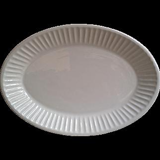 White Ceriart Platter Made in Portugal