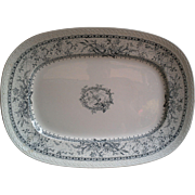 "Johnson Brothers ""Lace Pattern"" Large Platter"