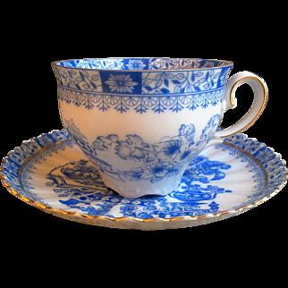 Vintage Mid Century Bavaria Schirnding Porcelain Tea Cup and Saucer Set