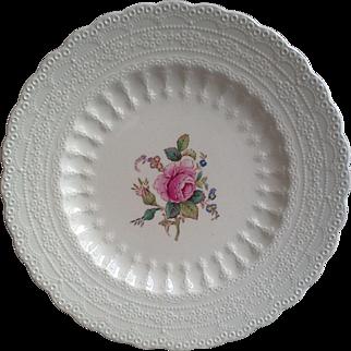 Spode Jewel Billingsley Rose Side Plate