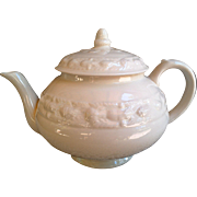 White Ironstone Tea Pot by Adams of England