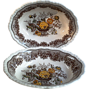 Mason's Ascot Set of 2 Serving Bowls