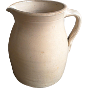 Stoneware Large Pitcher Colonial Earthenware