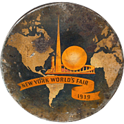 Worlds Fair 1939 Large Tin