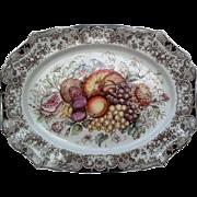 Thanksgiving Platter Johnson Brothers Harvest Fruit