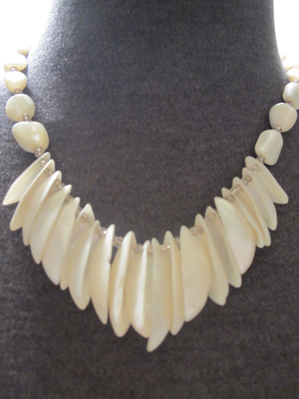 Natural Mother of Pearl Shell Necklace