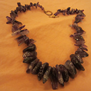 Gorgeous Genuine Amethyst Necklace 100 grams