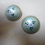 Fabulous Signed Alice Vintage Madmen Style Earrings