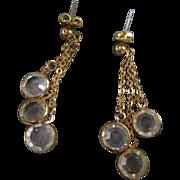 Clear Swarovski Crystal Earrings