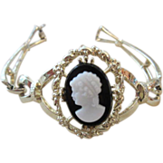 Classic Vintage Cameo Victorian Revival Bracelet
