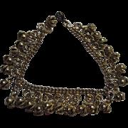 Fun & Funky Vintage 1960's Bell Ankle Bracelet
