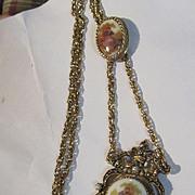 Fabulous Victorian Revival Romantic Vintage Slide Necklace