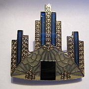 Fabulous Pierre Bex French Odillon Vintage Brooch  Pin