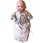 German bisque head Character baby