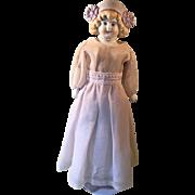 German Bonnet Head Doll