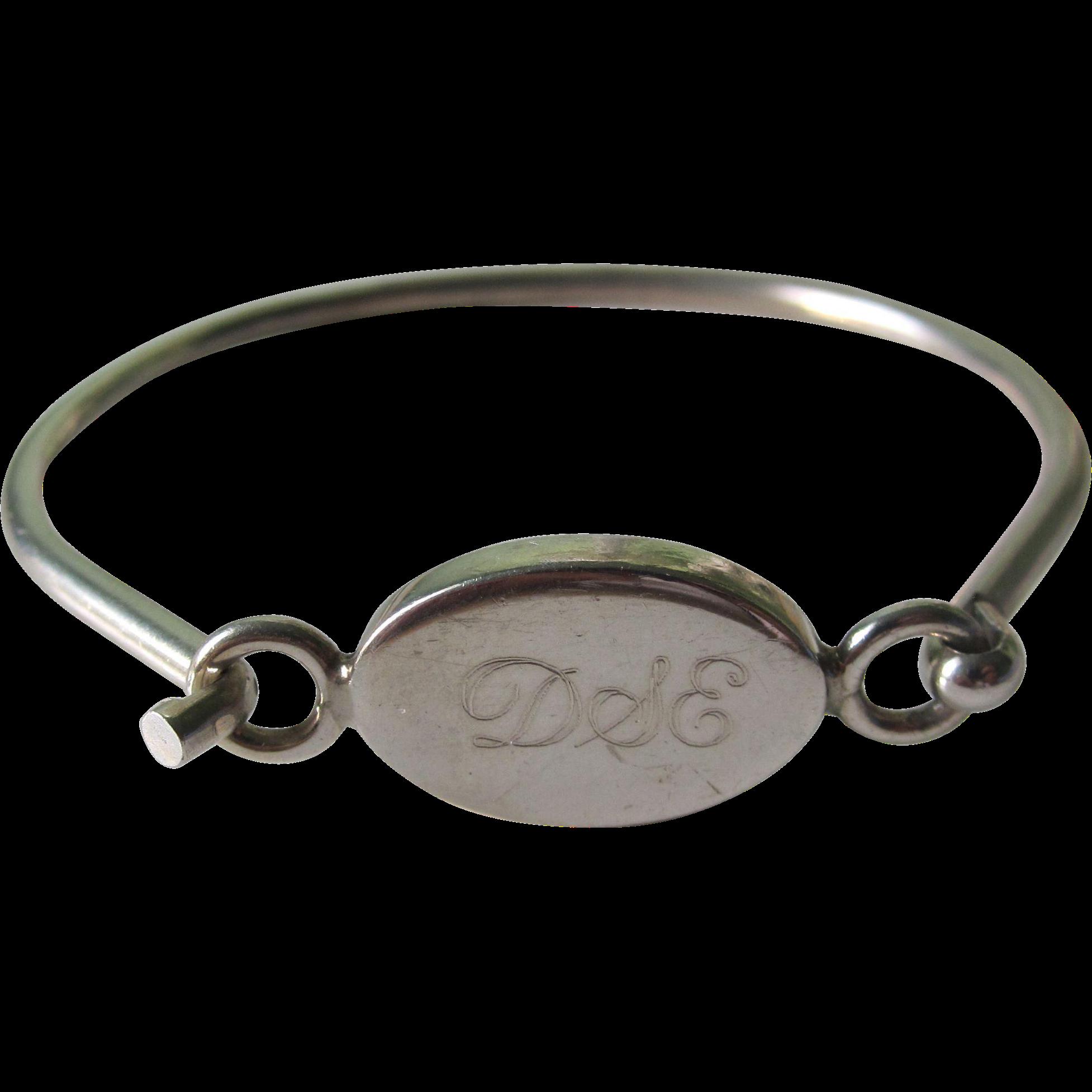 Vintage Sterling Silver Bracelet 16