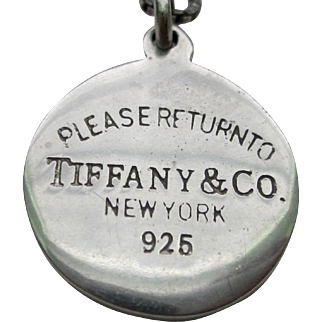 Vintage Sterling Silver TIFFANY & CO Charm/Pendant