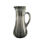 "EAPG Duncan Miller #44 Button Panel 9 3/4"" Tankard Pitcher 1900"