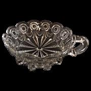 EAPG Alabama U.S. Glass #15062 Clear Nappy Jelly