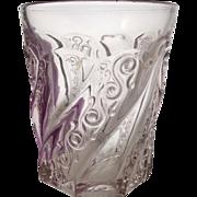 EAPG Crystal WEDDING BELLS Tumbler Fostoria Glass Co. 1900